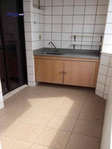 Imagem 1 de 8 de Apartamento Residencial À Venda, Jardim Las Palmas, Guarujá - . - Ap8640