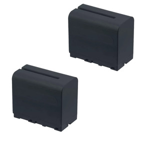 Kit 2 Baterias F970 Tipo Sony + Carregador Duplo Para F970