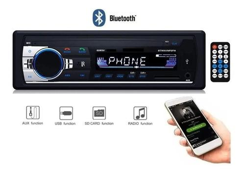 Imagen 1 de 10 de Estereo Con Bluetooth Usb Sd Mp3 Fm C-520bt Oferta!!!!!