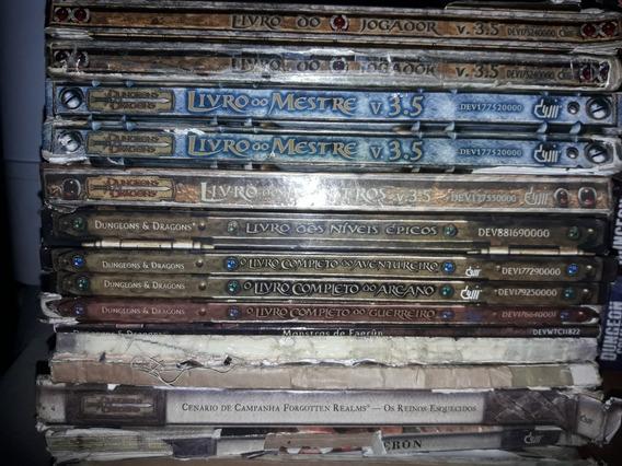 Coleção Dungeons & Dragons 3.5 Em Português