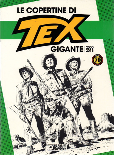 Imagem 1 de 2 de Le Copertine Di Tex Gigante 2000 - 2018  Sbe - Bonellihq V20
