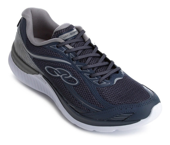 Tenis Olympikus Masculino Cushy 4 Azul - Pronta Entrega + Nf
