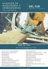 Alquiler De Maquinaria Y Herramientas Para La Construcción