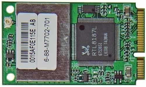 Placa Wireless Para Notebook Azurewave Aw-gu700