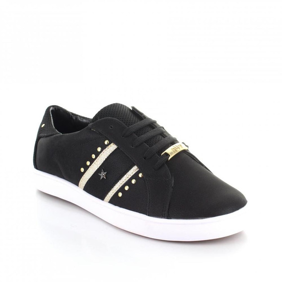 Tenis Para Mujer Redberry 5205-049684 Color Negro