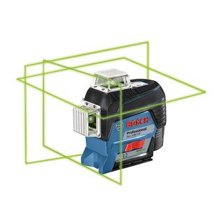Nivel Láser Líneas Verde 360 Bosch Gll 3-80cg 30m + Recept