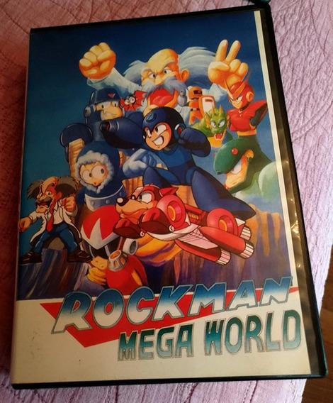 Jogo Rockman Mega Man Mega World Jogo Paralelo De Mega Drive
