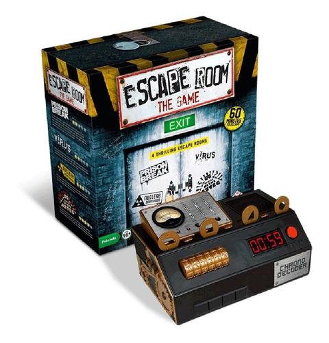 Imagen 1 de 10 de Juego De Mesa Escape Room The Game 1 Identity Games