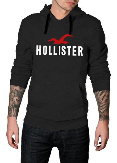 Blusa De Moletom Hollister - Casaco C/ Capuz E Bolso Unissex