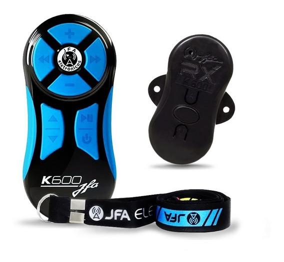Jfa K600 Preto Com Azul Controle Longa Distancia Testado!!