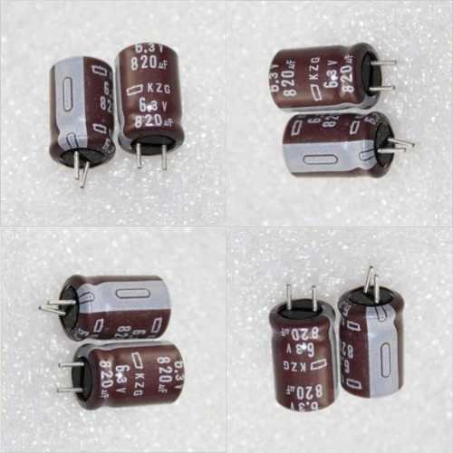 Capacitor Eletrolítico 820uf X 6,3v Kit 10 Peças Placa Mae