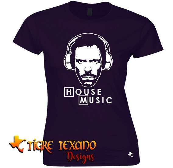 Playera Series Tv Dr. House Mod. 07 By Tigre Texano Designs