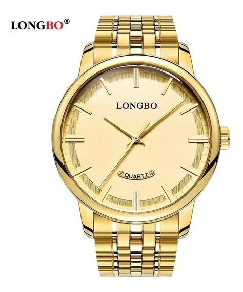 Relógio Feminino Original Dourado A Pova D