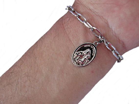 Cadeia Consagraçao A Nossa Senhora Inox + Medalha/ Variadas