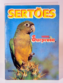 Álbum Nestlé Surpresa - Sertões - Vazio - Item 06
