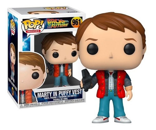 Funko Pop Marty Doc 1955 Back To The Future Volver Al Futuro