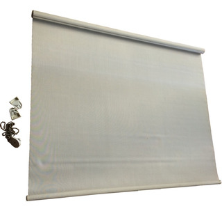 Persiana Enrollable Blanca 97 X 132 L Con Envio 6