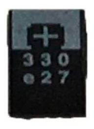 Kit 10 Peças Capacitor Polymer Tantalo 330uf X 2,5v330 Uf