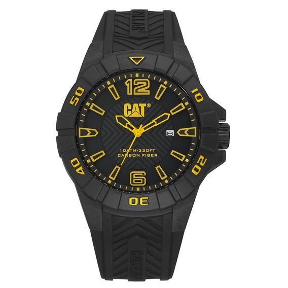 Relógio Caterpillar Kat Carbon Silicone K1.121.21.137 Nfe