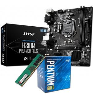 Kit Actualizacion Pc | Intel Pentium G5400 + Asus H310 + 8gb