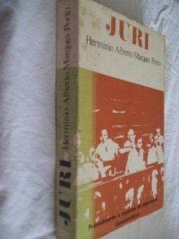 Livro - Herminio Alberto Marques Porto - Juri - Direito