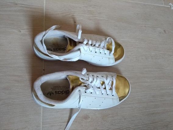 Tenis adidas Dourado Stan Smith