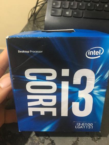 Processador Intel Core I3 6100 3.7ghz Lga1151