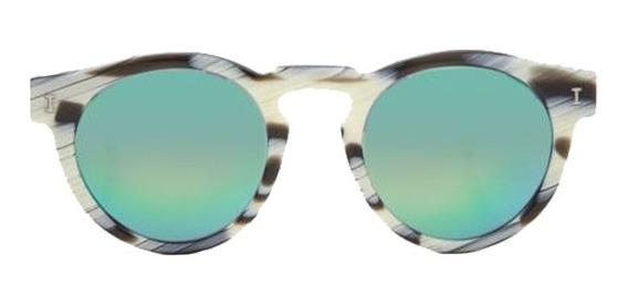 Óculos Illesteva Leonard Ii Green Mirrored Lenses Illesteva