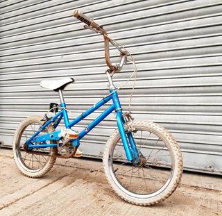 Bicicleta Celeste Infantil Niña Niño Rodado 16 Buen Estado.