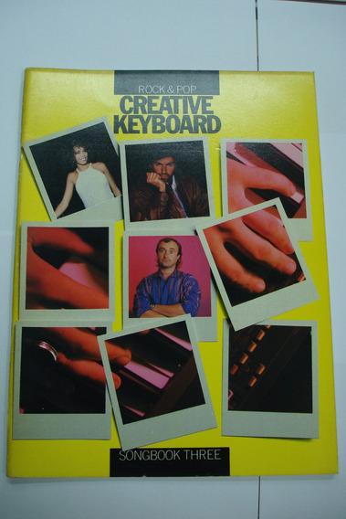 Livro - Teclado Creative Keyboard Rock & Pop - Three