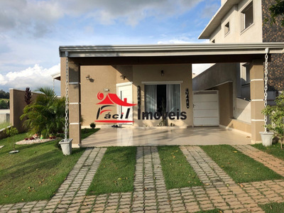Casa Condominio Fechado Terras De Atibaia 1 - Ca00377 - 33739174