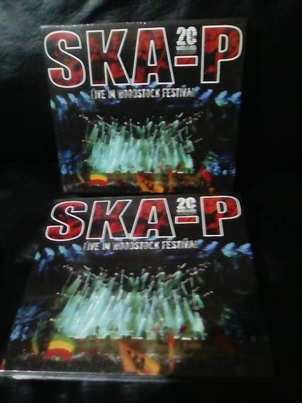 Ska P Live In Woodstock Cd+dvd Nuevo Original Sellado