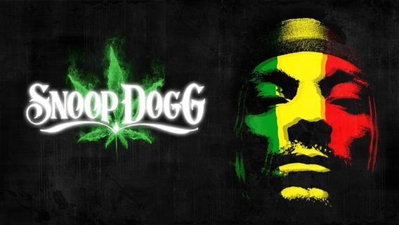 Camisa 100% Algodão - Snoop Dogg Dog - Rasta - Hip Hop - Rap