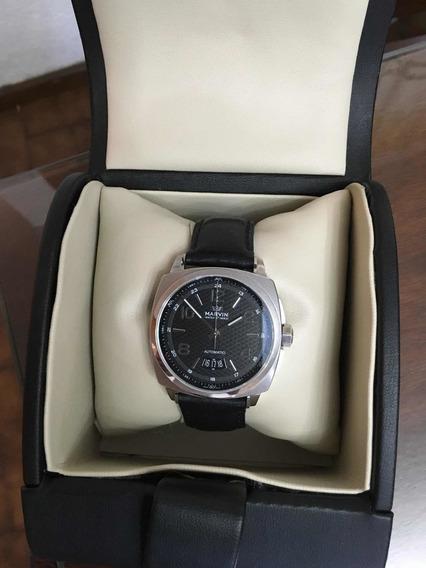 Reloj Marvin Malton Cushion Mod. M119.13.44.64. Casi Nuevo