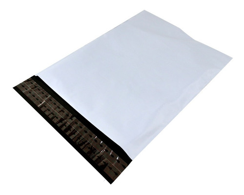 Bolsa Para Mensajería Blanco-negro 23x30.5+5.5 Cms