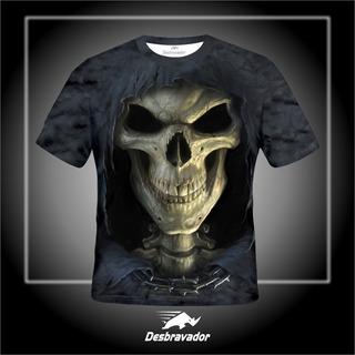 Camisa 3d Caveira