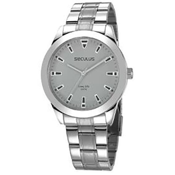 Relógio Seculus Long Life Masculino 28980g0svna2