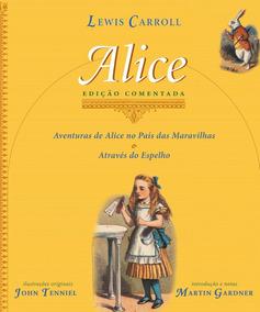 Livro Alice Edição Comentada