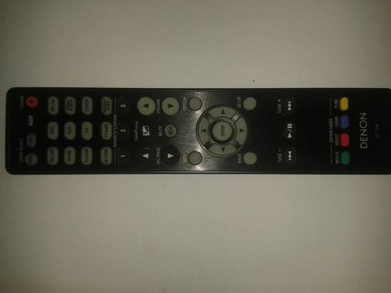 Controle Remoto Denon Rc1184