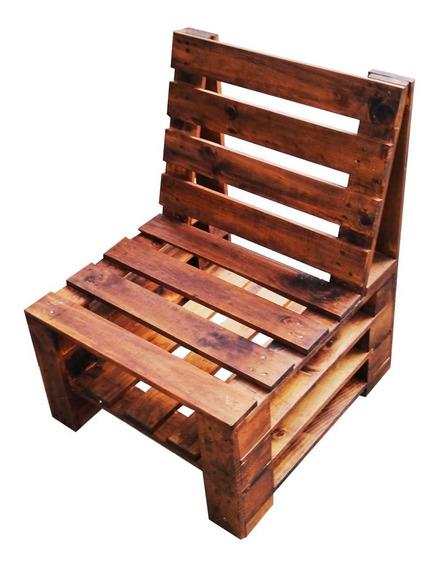 Sillon Tipo Pallet, Sala Modular (mueble De Tarima)