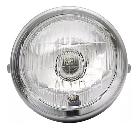 Farol Intruder 125 Completo C/ Lâmpada E Soquete Mod.orig.