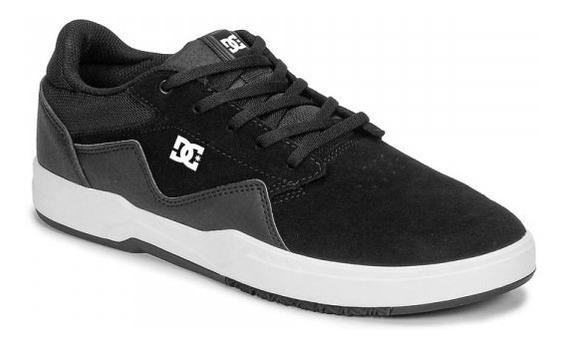 Zapatillas Dc Shoes Modelo Barksdale Negro Nueva Coleccion