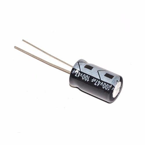 Capacitor Eletrolítico 47uf X 100v Driver Corneta 1 Unidade