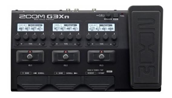 Pedaleira Para Guitarra Zoom G3xn - Com Fonte Bivolt