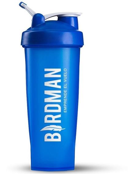Vaso Para Proteina 600ml 20oz Shaker Mezclador Vida Birdman