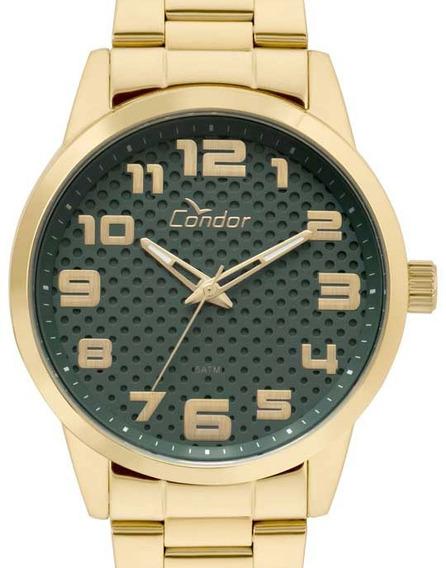 Relógio Condor Masculino Dourado - Co2036kuo/k4v