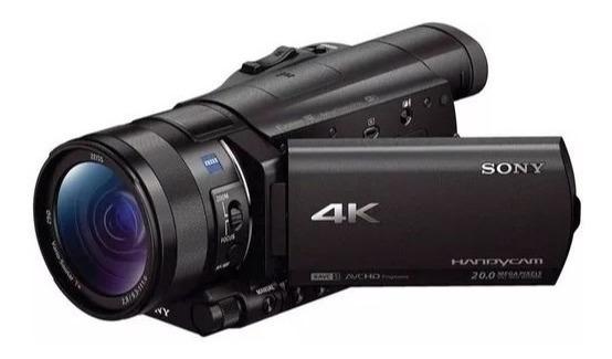 Filmadora Sony Fdr-ax100 4k Ultra Hd 4k