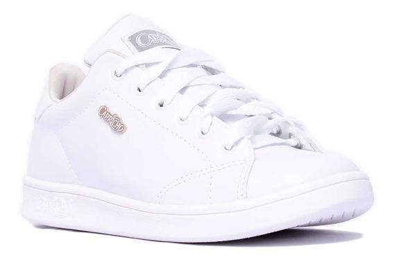 Tênis Feminino Casual Capricho Flatform Branco