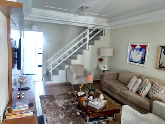 Casa Para Venda Em Volta Redonda, Jardim Belvedere, 3 Dormitórios, 1 Suíte, 4 Banheiros, 2 Vagas - 093_2-536257