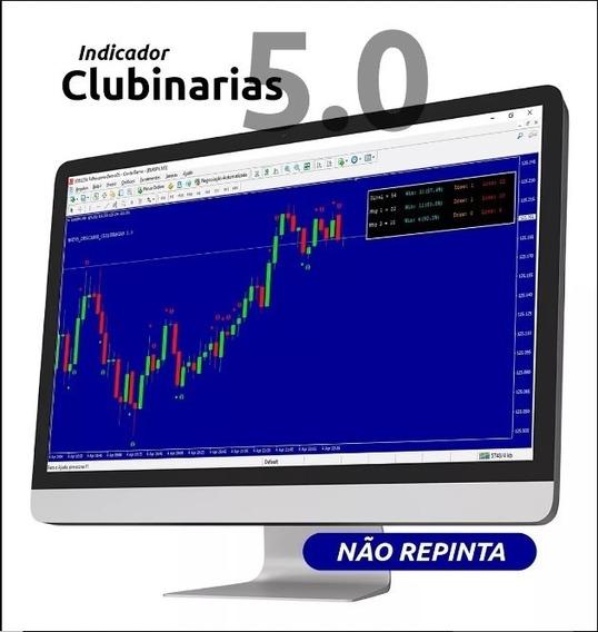 Indicador Clubinarias 5.0 - Mt4 + Bônus E Suporte Oficial